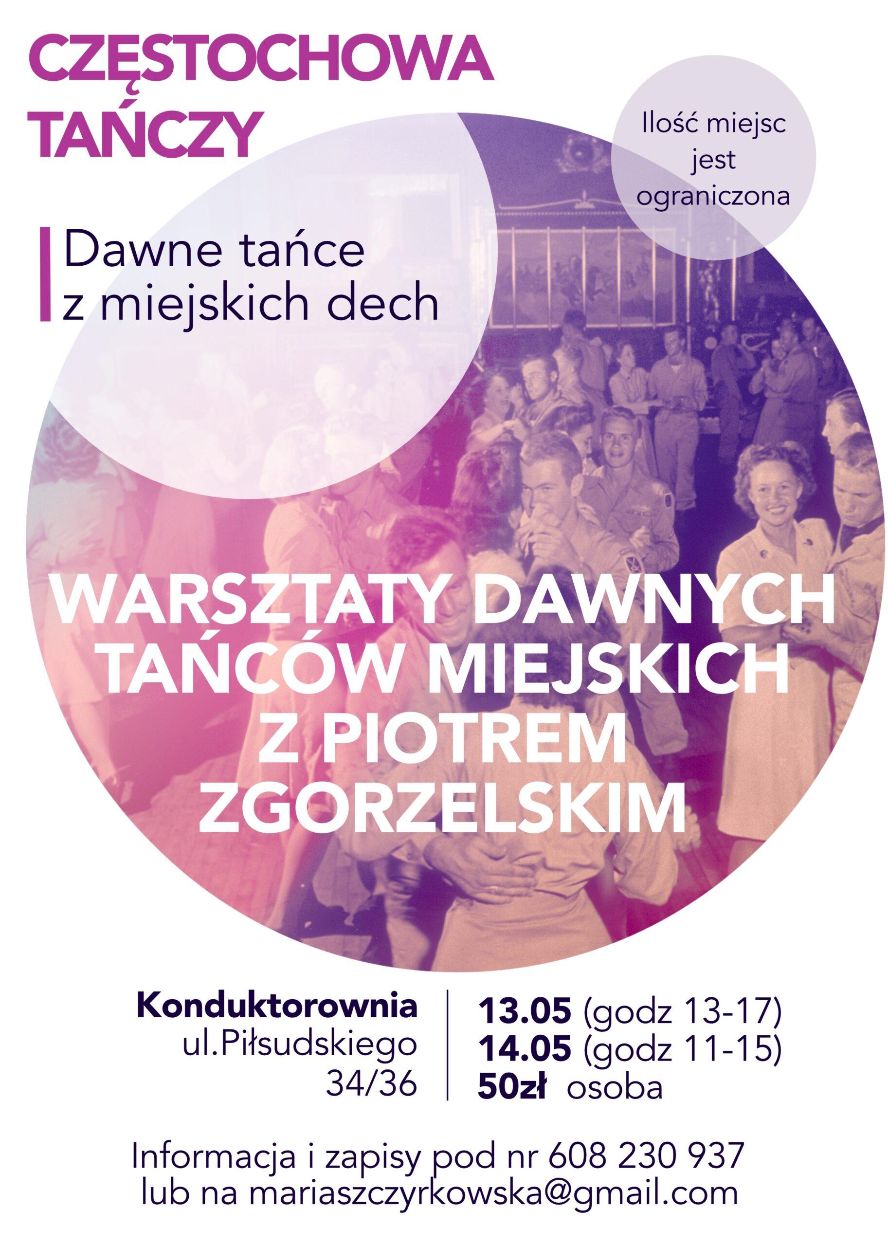 Zapraszamy na warsztaty do Częstochowy!