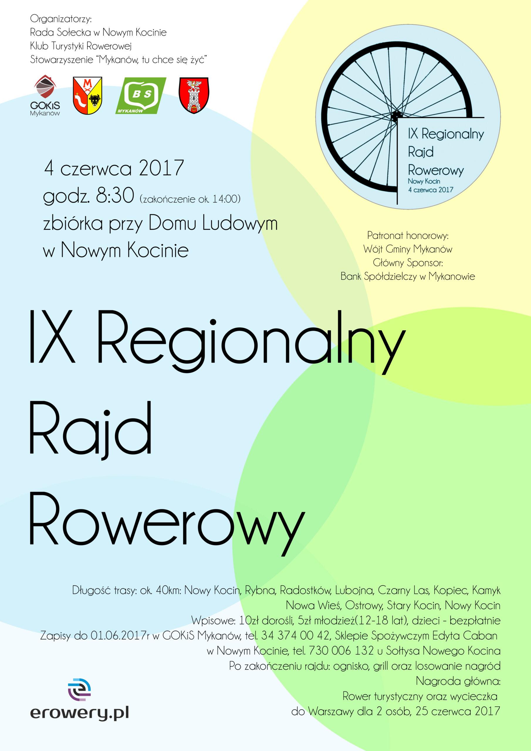 IX Regionalny Rajd Rowerowy