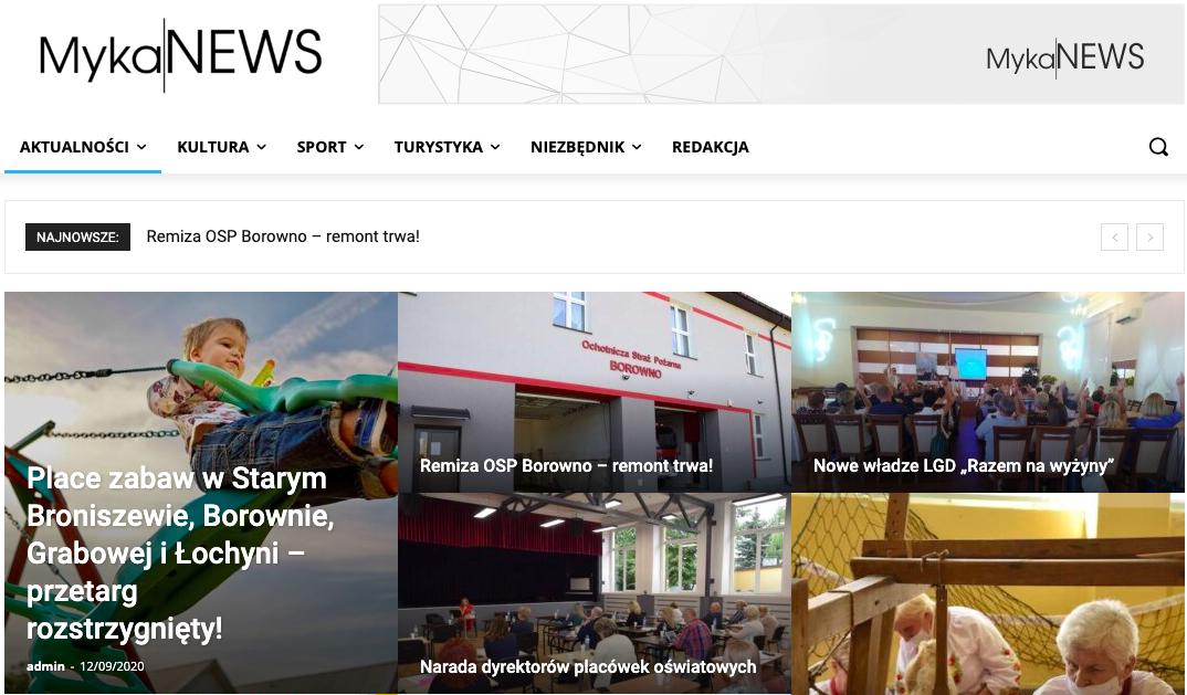 Ekarnu portalu MykaNews