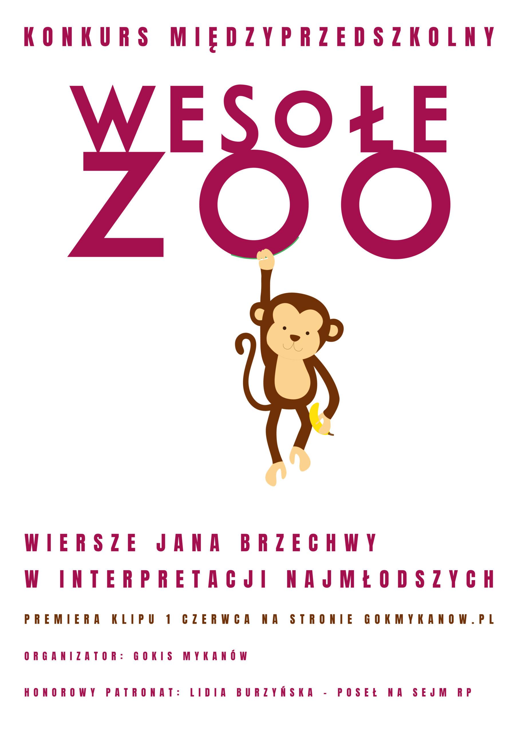 Wesołe zoo – konkurs dla przedszkoli